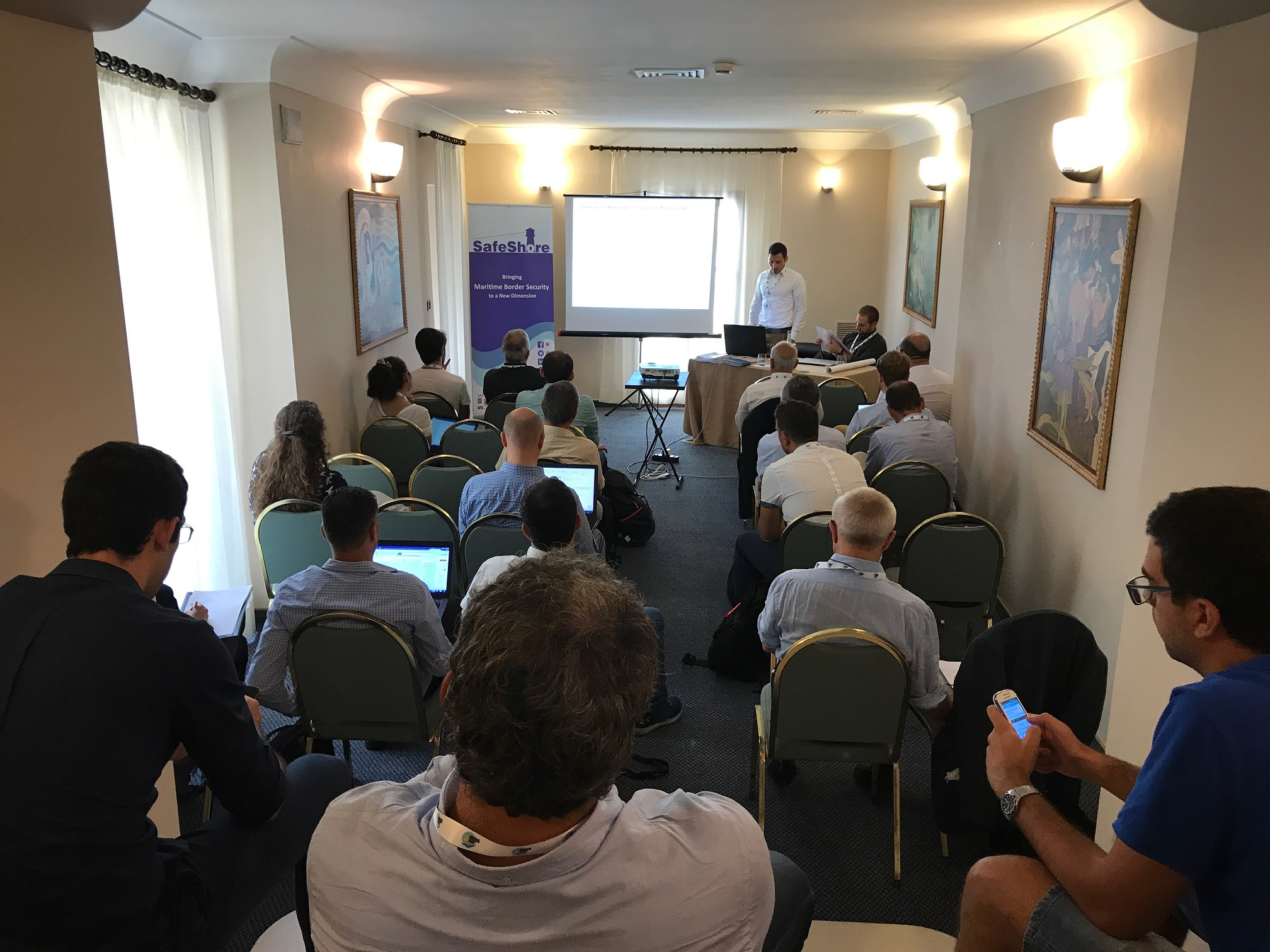 Image of The WOSDETC workshop which was co-organised by SafeShore partners and hosted by the University of Salento turned out to be a great success.